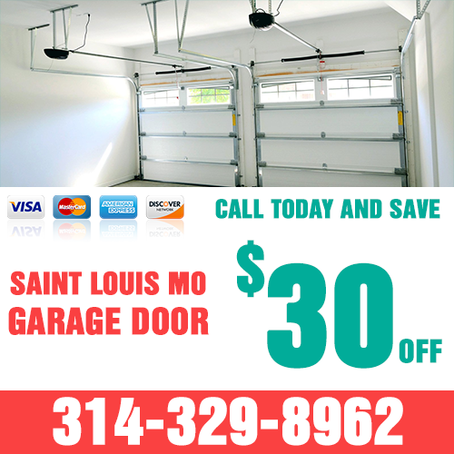 Saint Louis MO Garage Door Coupon
